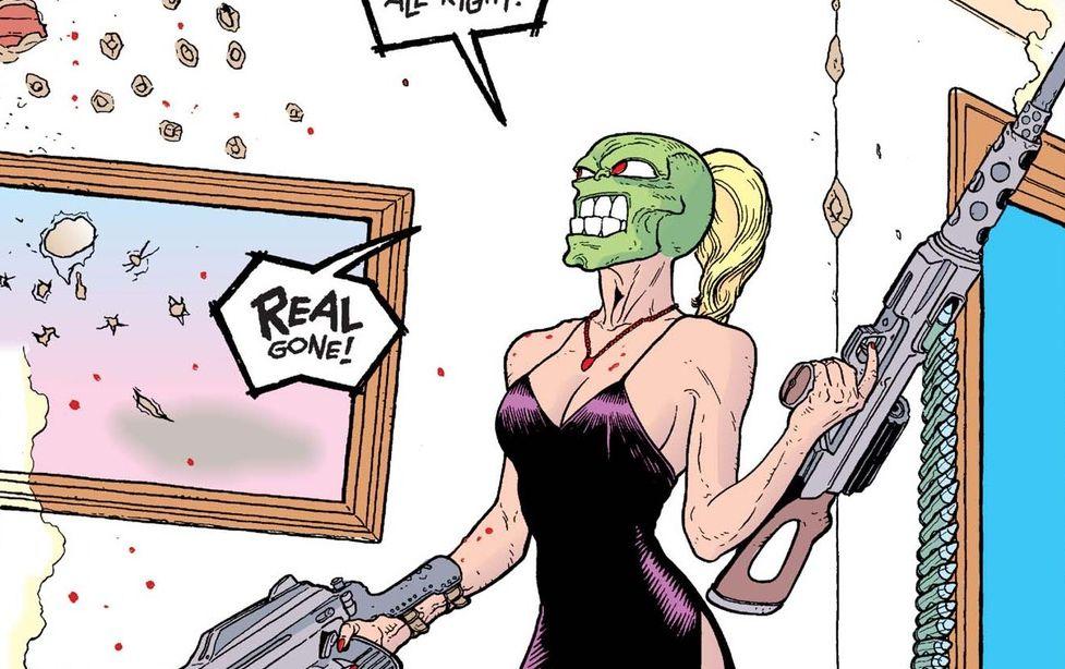 """¿Remake femenino de """"La Máscara""""?"""