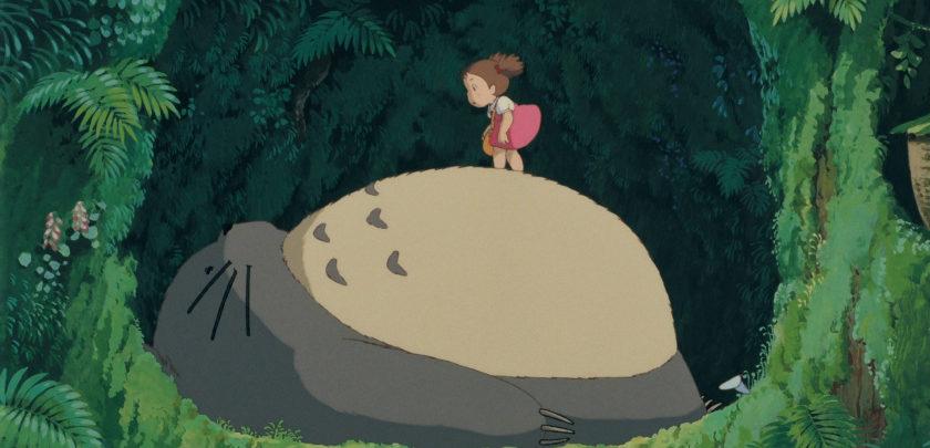 Primera aparición de Totoro en el filme