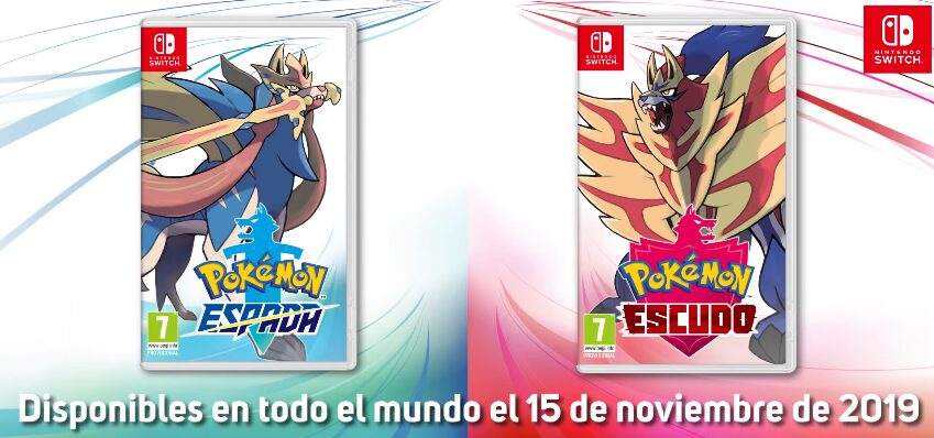 Pokemon Sword & Shield Parte 1 – Galar, iniciales y legendarios