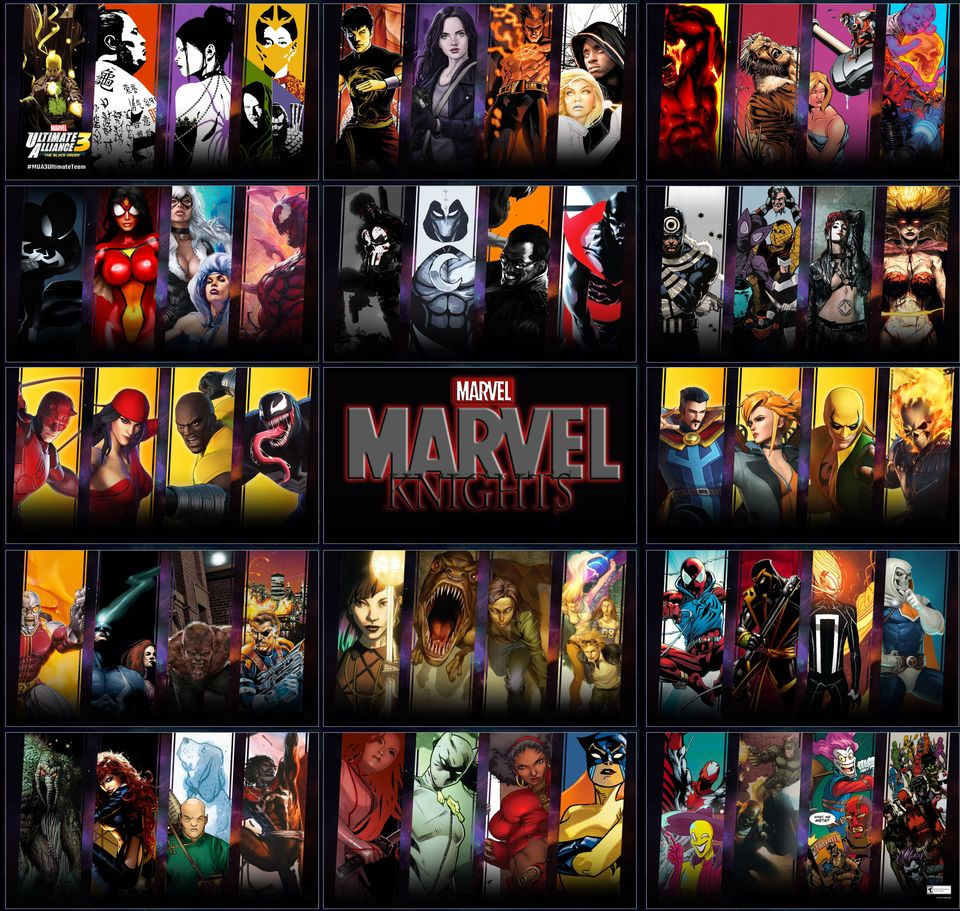 Sello editorial Marvel Knights ¿Qué es?