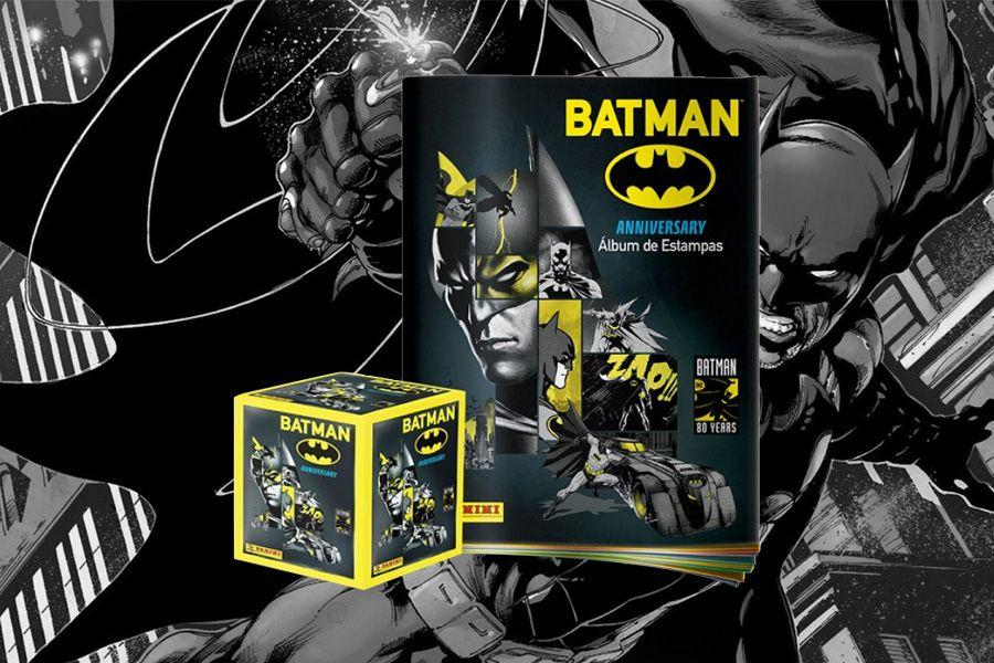 Nuevo álbum Batman 80 años de Panini