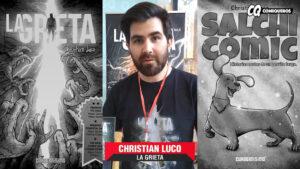 Christian Luco en Expo-Comic 2019