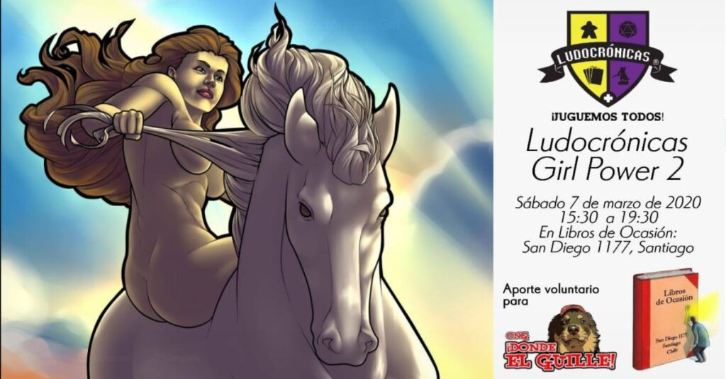 Evento: Ludocrónicas – Girl Power 2
