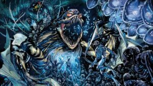 Aquaman La Fosa de Geoff Johns e Ivan Reis