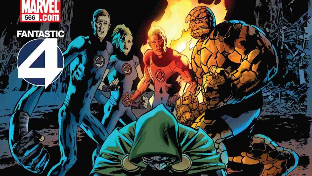 Fantastic Four de Mark Millar y Bryan Hitch parte 2