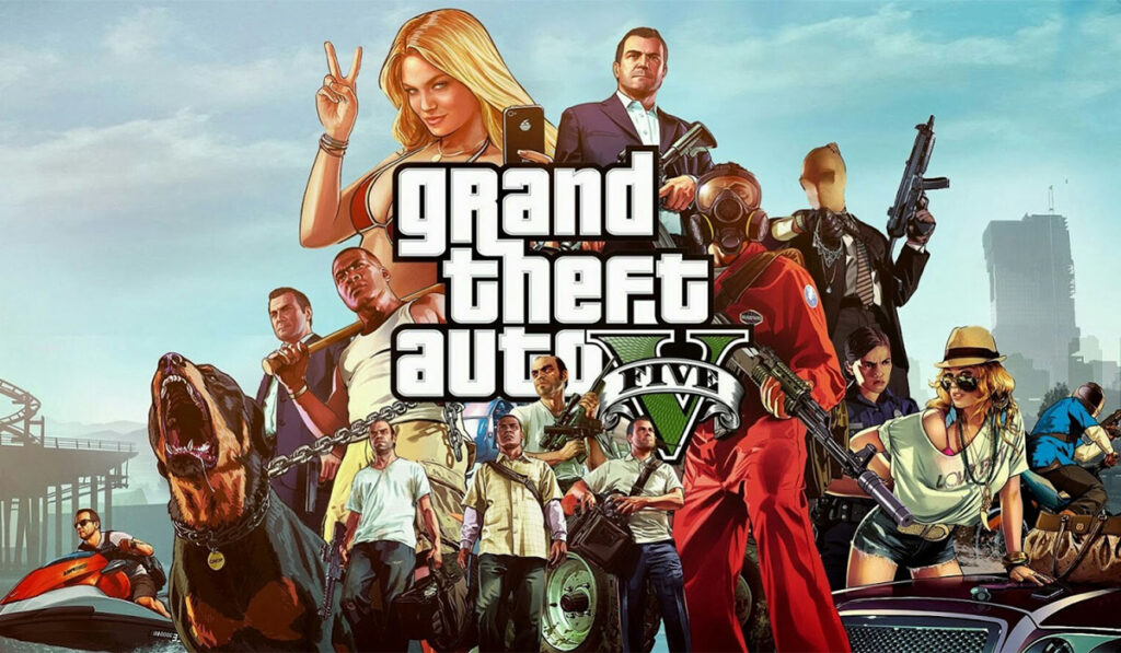 Grand Theft Auto V está gratis en la Epic Game Store