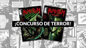 ¡Ganador concurso de terror Neuron Comics!