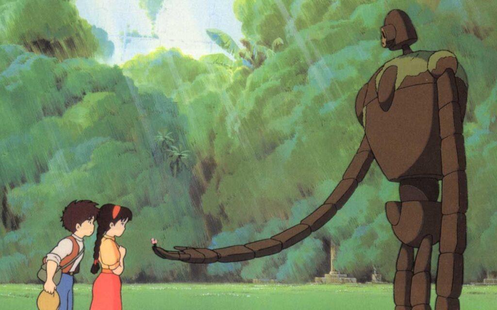 El castillo en el cielo: la primera película de Studio Ghibli