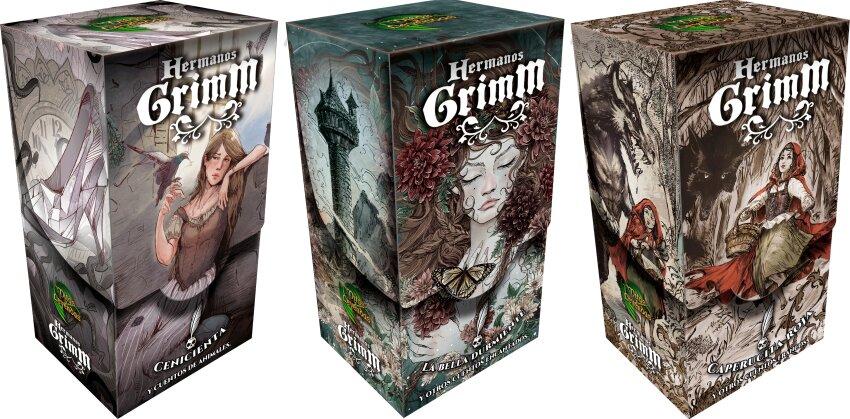 Cajas Hermanos Grimm Mitos y Leyendas