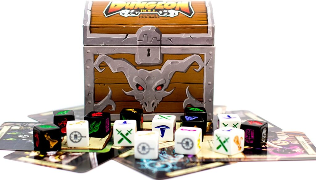 Dungeon Dice componentes