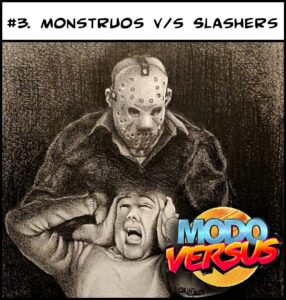 Modo Versus 3_Monstruos vs Slashers