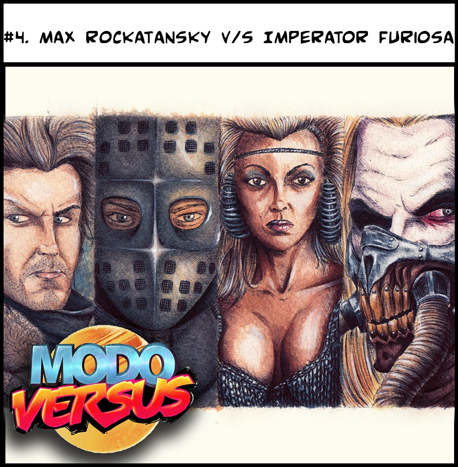 #4. Max Rockatansky v/s Imperator Furiosa