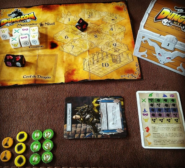 Dungeon Roll Componentes