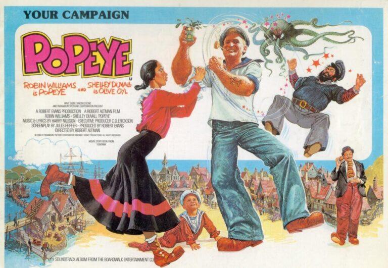 Rarezas de Culto: Popeye (1980)