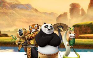 Kung Fu Panda como saga Wuxia