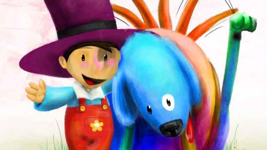 Mónica la niña daltónica y Federico el perro psicodélico, un precioso relato infantil