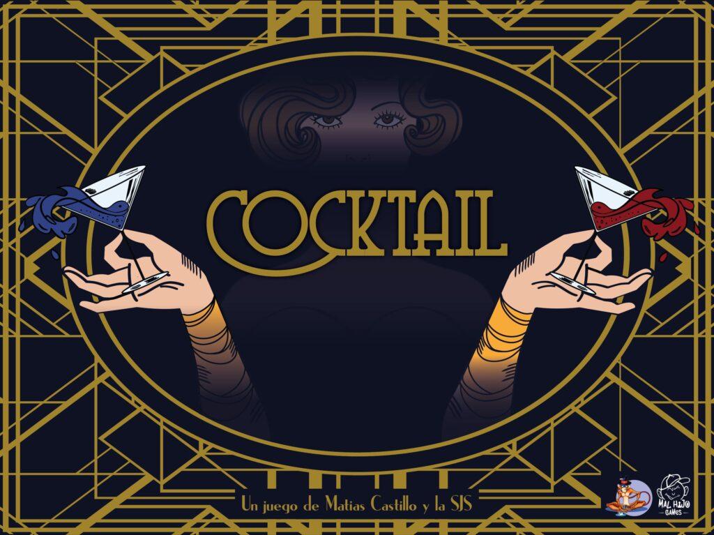 Cocktail SJS Sociedad de Jugadores Serios Matías Castillo portada