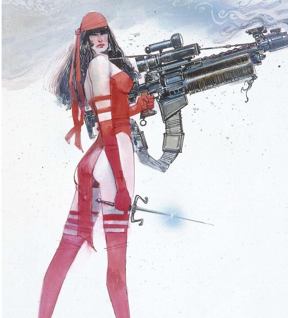 Elektra: La saga de la Ninja Asesina, parte II