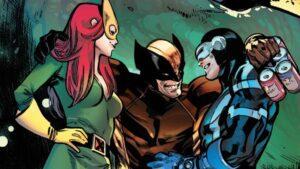 Poliamor en los X-Men – Jean, Scott y Logan juntos