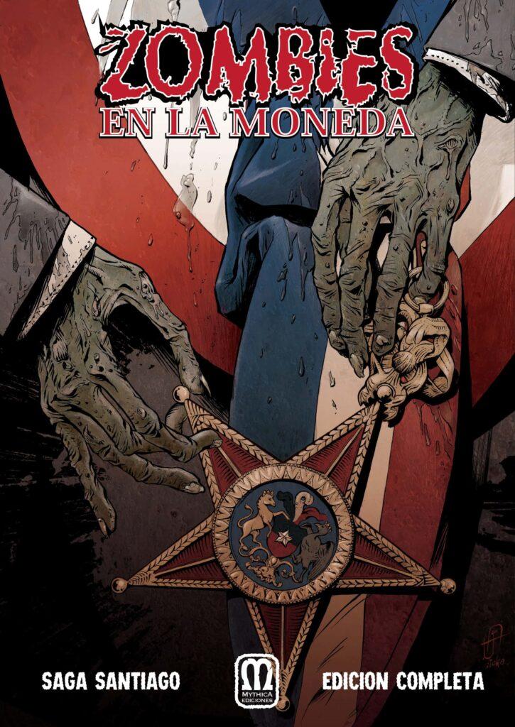 Portada comic Zombiens en la Moneda Mythica editorial