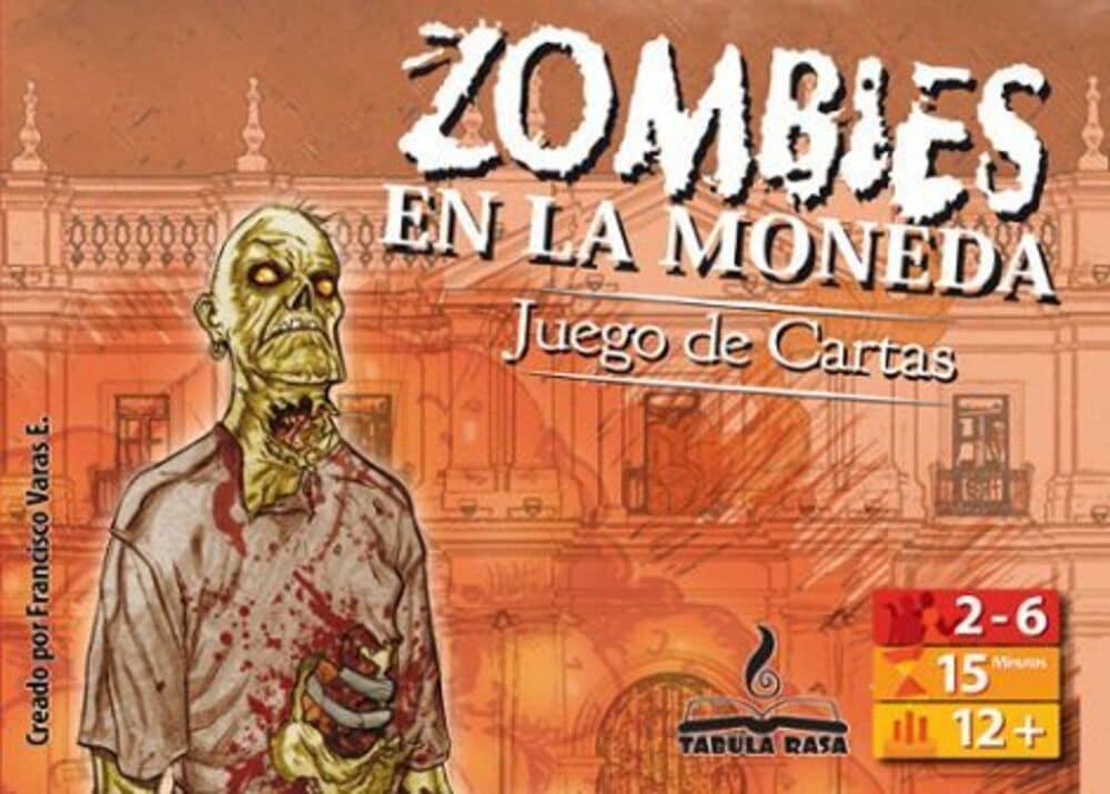 Portada Zombies en La Moneda Juego Cartas