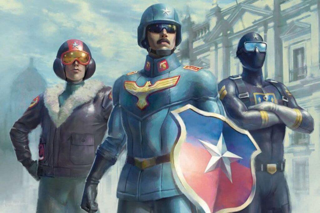 Disfrazados, ficción histórica superheroica