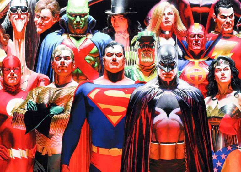JLA Justicia de Alex Ross