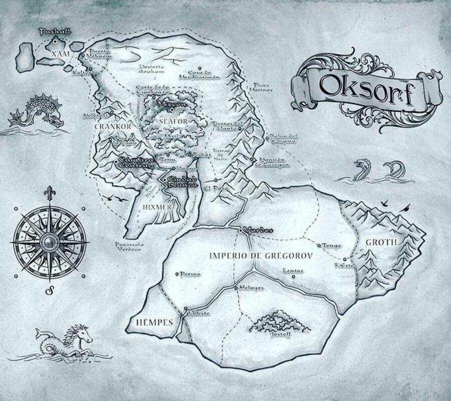 Mapa Orksorf Maza Espada