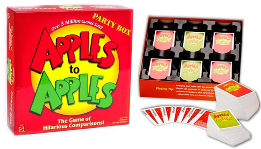 Apples tu Apples juego de mesa