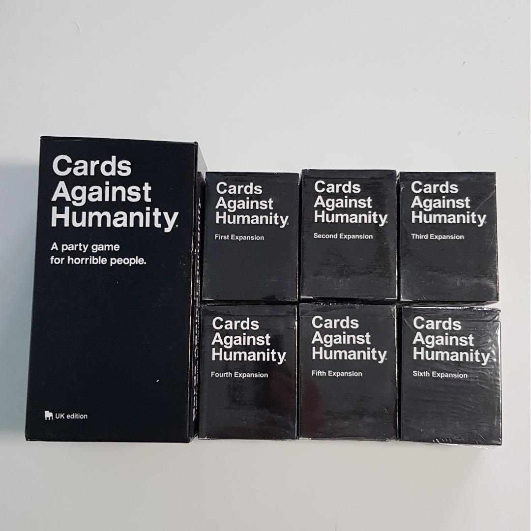 Cards Against Humanity base y expansiones