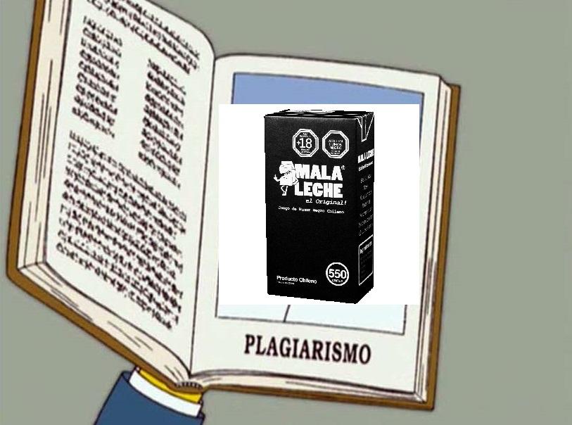 Edición pedorra plagio Mala Leche