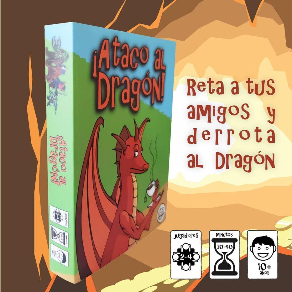 Caja Ataco al Dragón juego de mesa