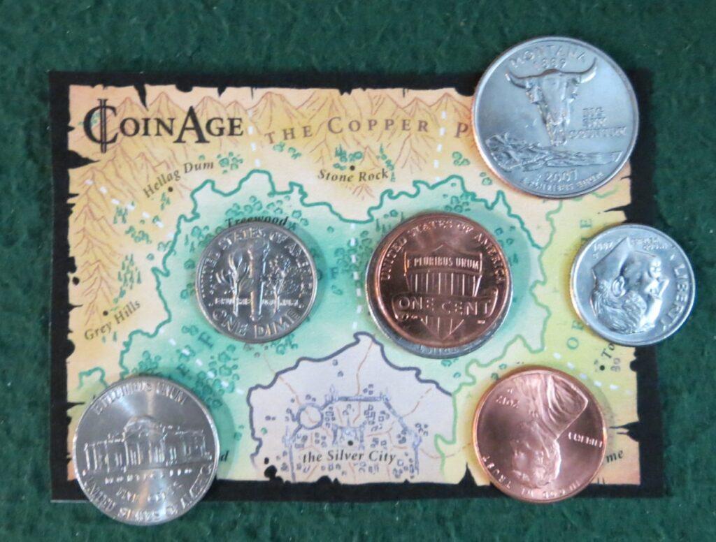 Coin Age Print and Play juego de mesa