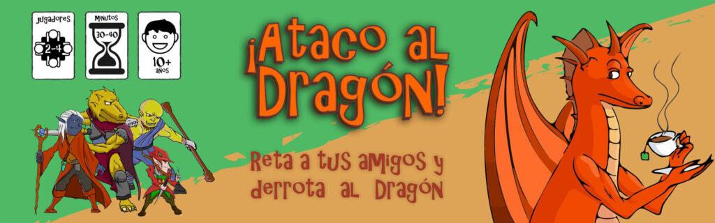 ¡Ataco al Dragón!, el juego de mesa lanzamiento de Redfi5h