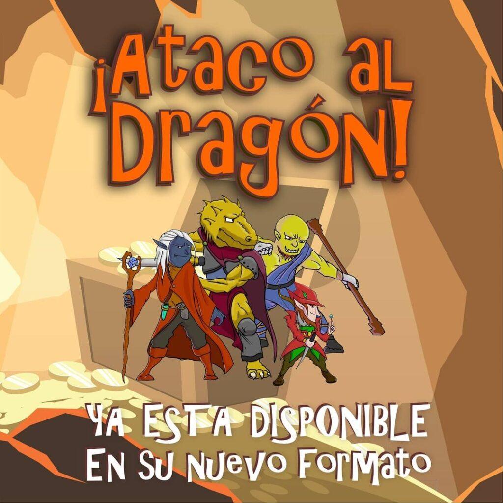 Publicidad Ataco al Dragón