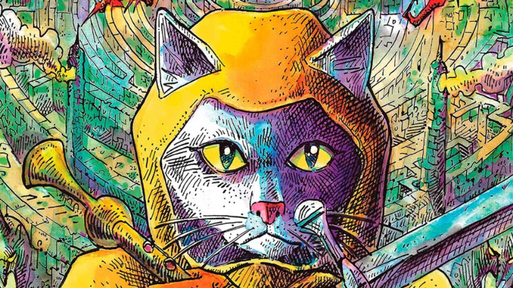 Sir Galahad, un gato salvando la humanidad.