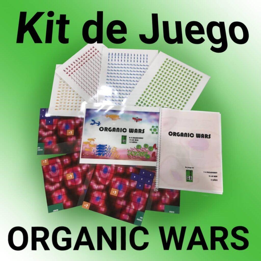 Componentes Organic Wars