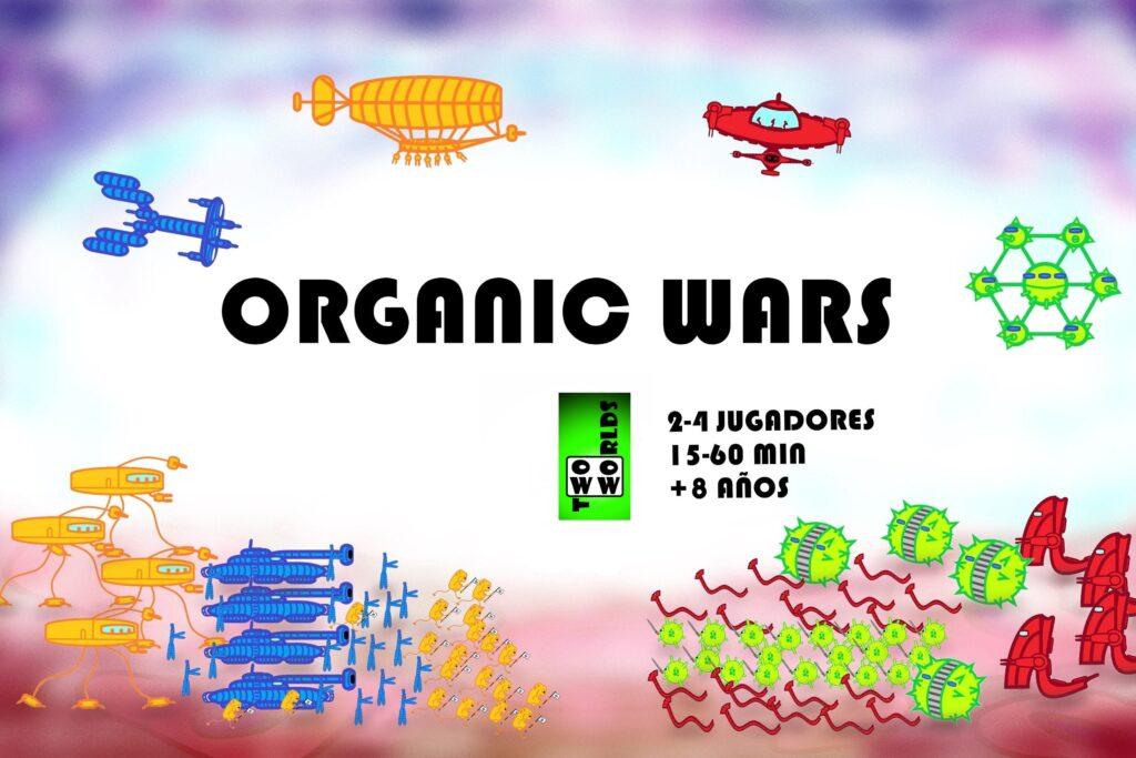 Organic Wars, el primer juego de la editorial Two Worlds