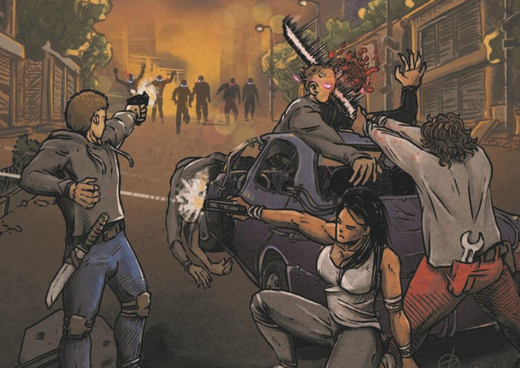 Último Registro: Una película serie B de zombies en forma de libro