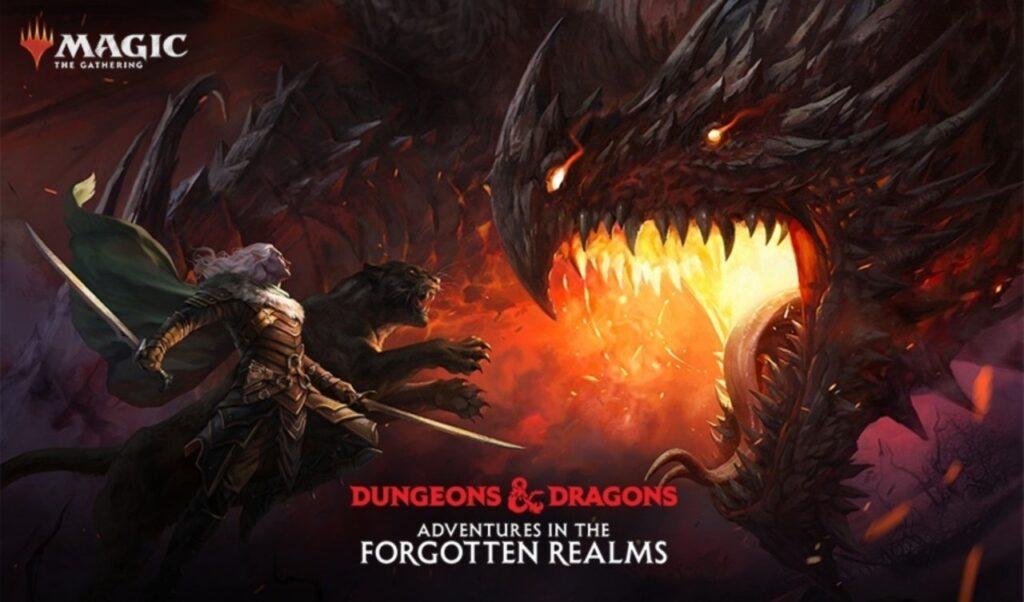 Aventuras en Reinos Olvidados Magic anuncio D&D