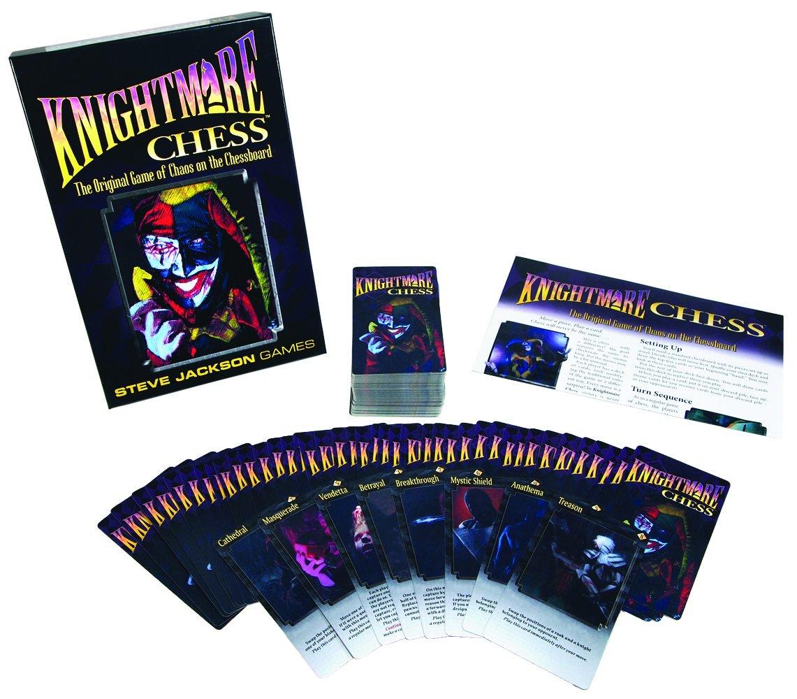 Nightmare Chess Steve Jackson juego de mesa