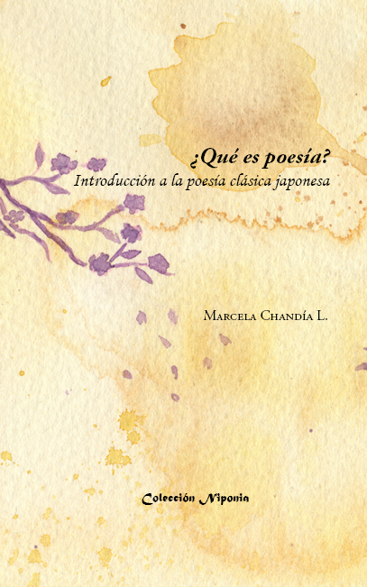 Portada libro qué es poesía, introducción a la poesía clásica japonesa