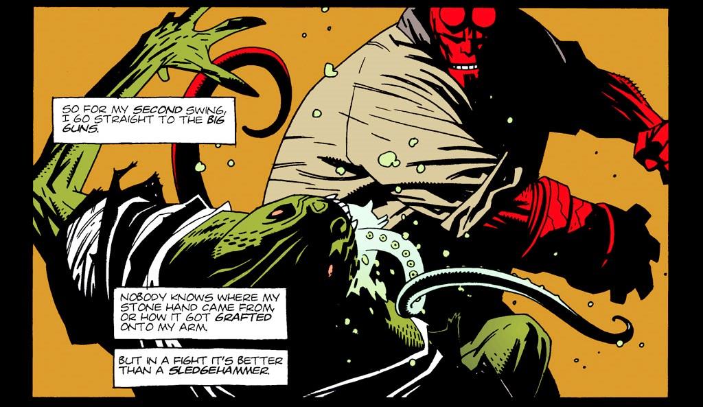 Reseña: Hellboy, Semilla de Destrucción