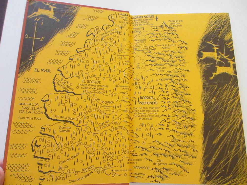 Hermano Lobo mapa Michelle Paver