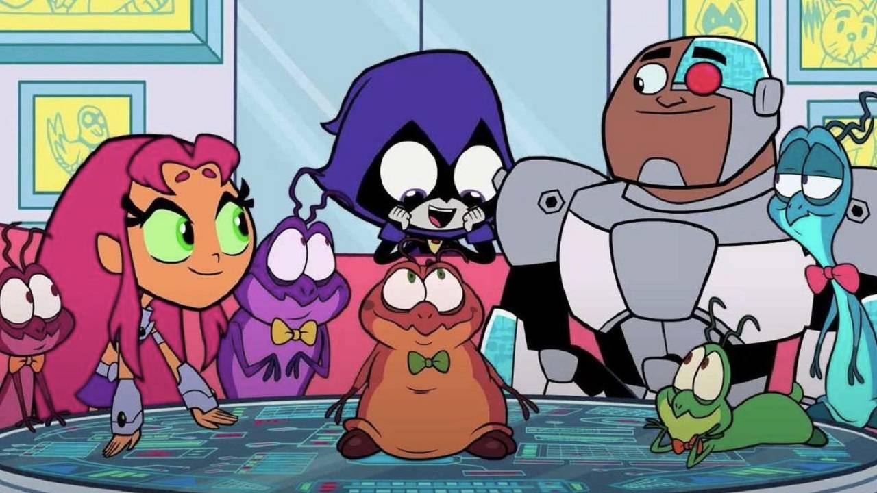Space Jam Nerdlucks Teen Titans Go