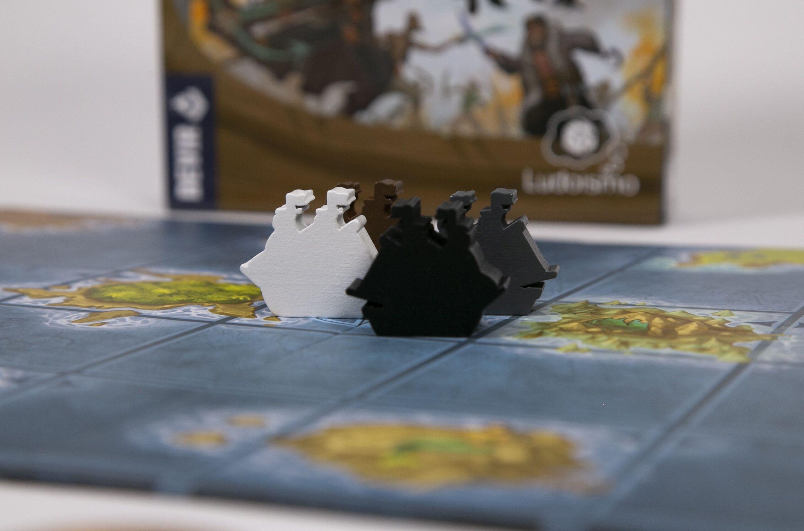 ficha barco segunda edicion juego de mesa tesoros rey pirata