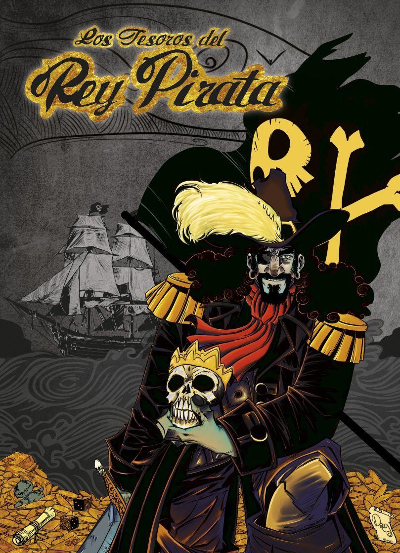 Tesoros rey pirata portada juego de mesa
