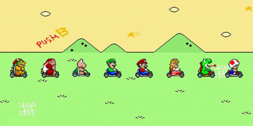 Super Mario Kart, 29 años de diversión en Go Karts