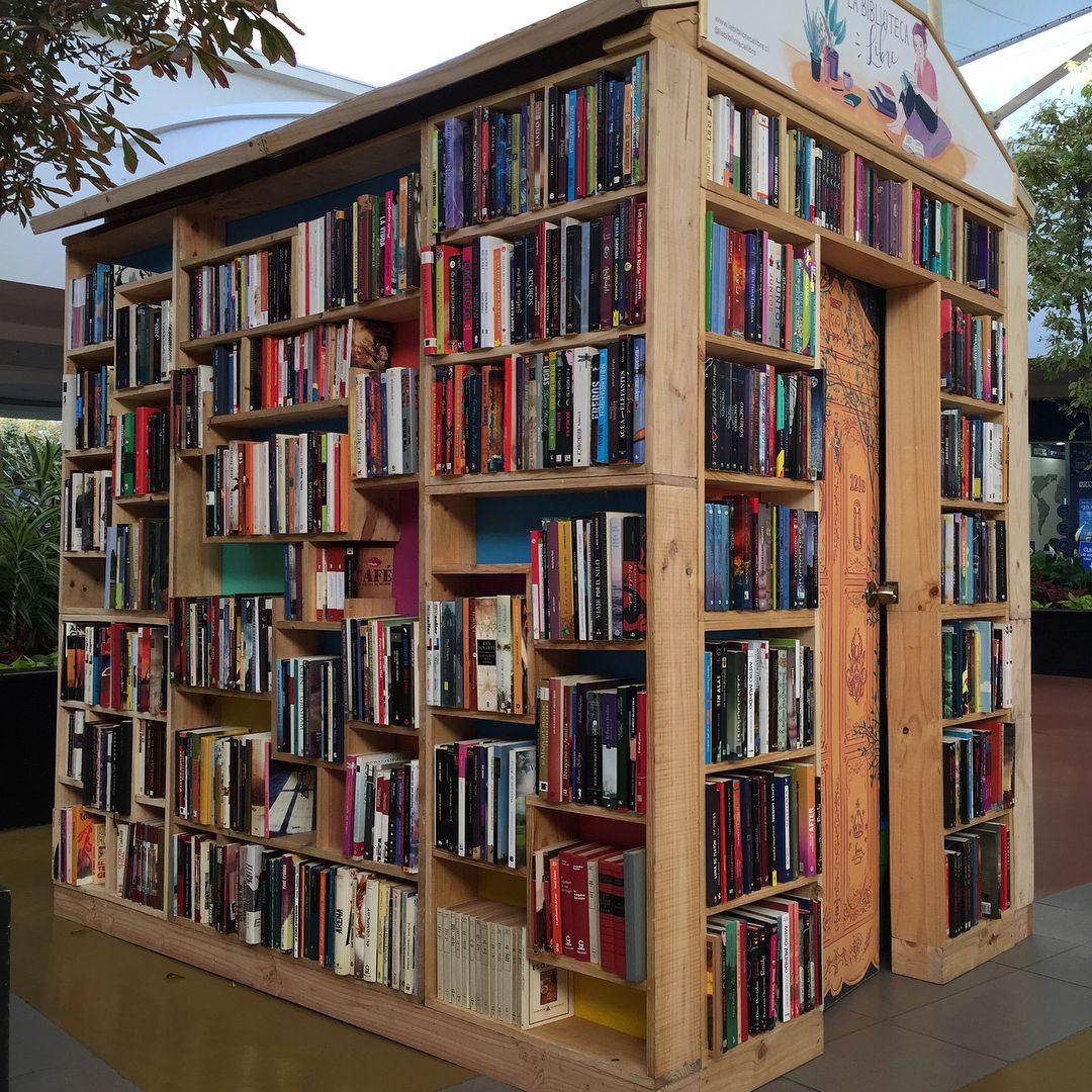 Casita de Libros Biblioteca Libre