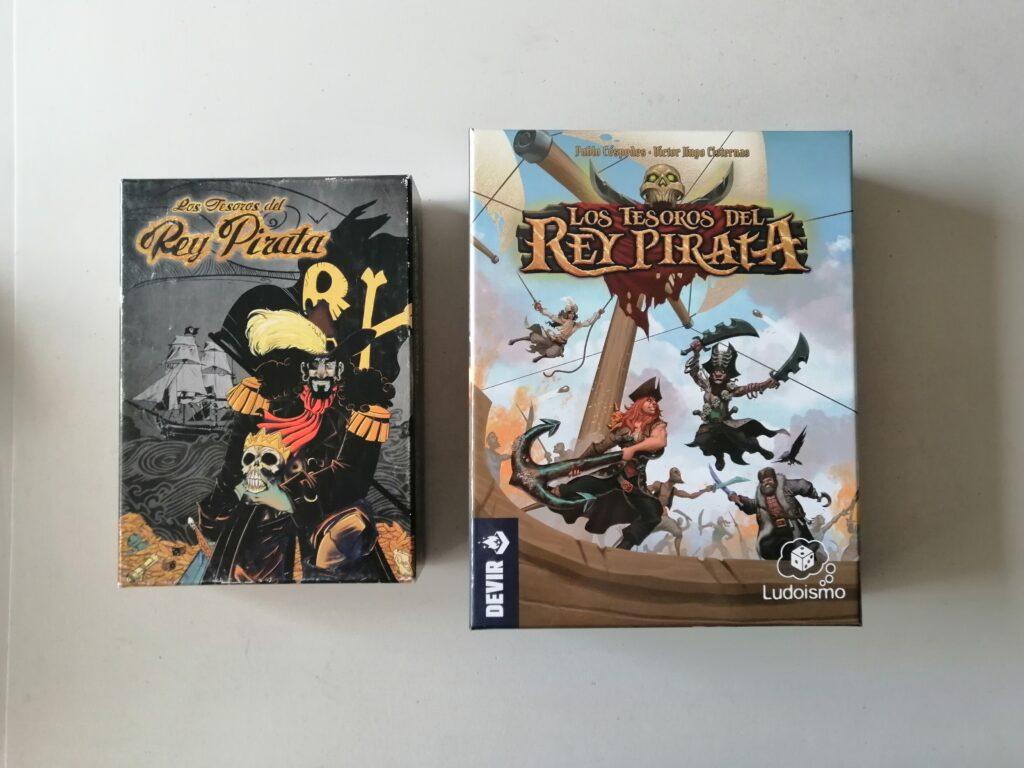 Los Tesoros del Rey Pirata caja